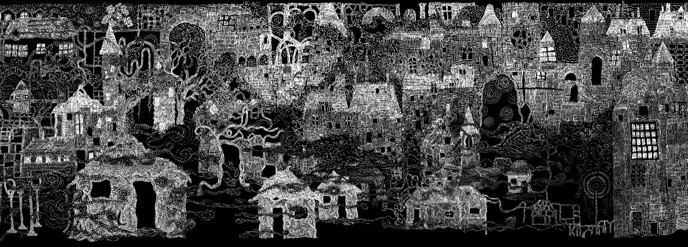 La Veille-ville (détail)